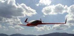 Line canard aircraft