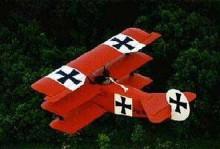 Fokker DR-1 Triplane 3/4 replica