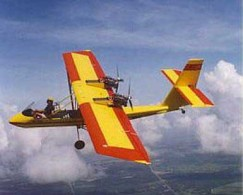 Air-Cam Twin-Engine Experimental Aircraft