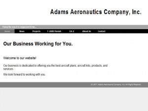 Adams Aeronautics Company, Inc.