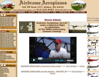 Airdrome Aeroplanes USA
