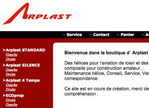 Arplast - ECOprop Propellers