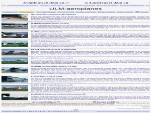 Aviationweb deja vu - ULM-aeroplanes