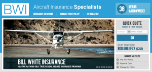 BWI Aircraft, Aviation, UAV and Drone Insurance