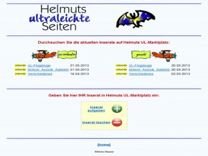 Helmuts Ultraleichte Markt