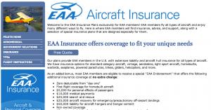 EAA Aircraft Insurance