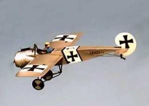 Fokker E-III Eindecker 3/4 replica