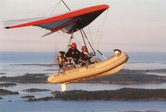FIB - Flying Inflatable Boat