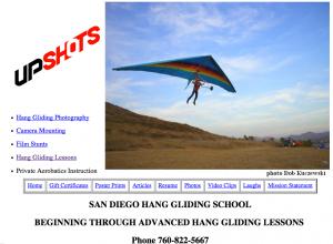 Hang Gliding San Diego