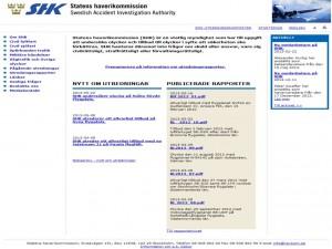 Swedish accident investigation board