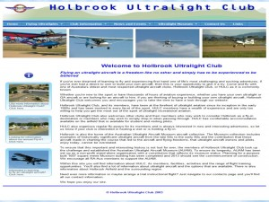 Holbrook Ultralight Club HULC