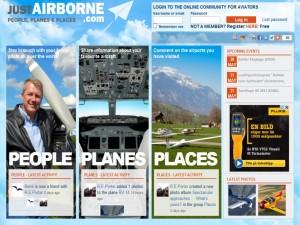 JustAirborne.com - Where all Pilots meet