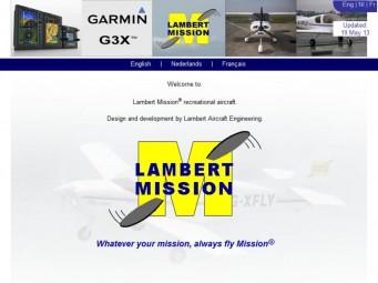 Lambert Mission recreational aircraft