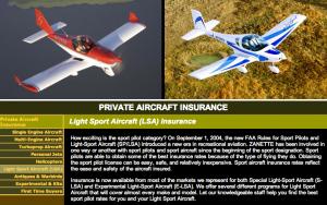 Zanette Light Sport Aircraft Insurance