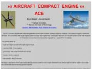 Aircraft Compact Engine