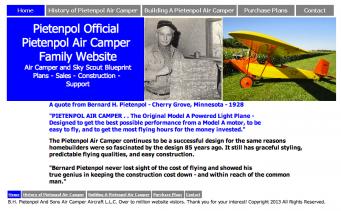 B.H. Pietenpol And Sons Air Camper Aircraft L.L.C