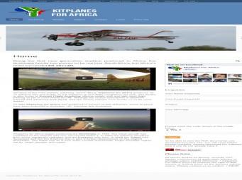 Kitplanes for Africa