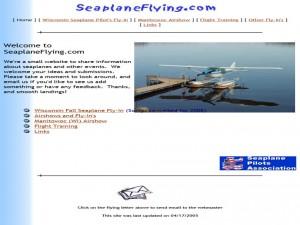 Seaplane Flying website