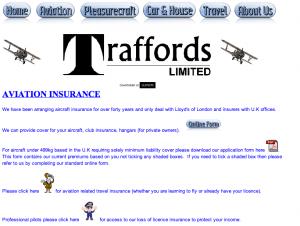 Traffords Aviation Insurance