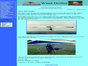 Foot-Launched Motorized Hang Glider