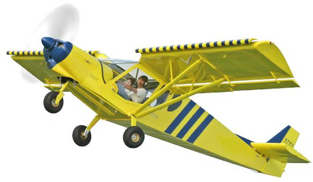 stol kit plane ~ stol ch 750  light aircraft db & sales