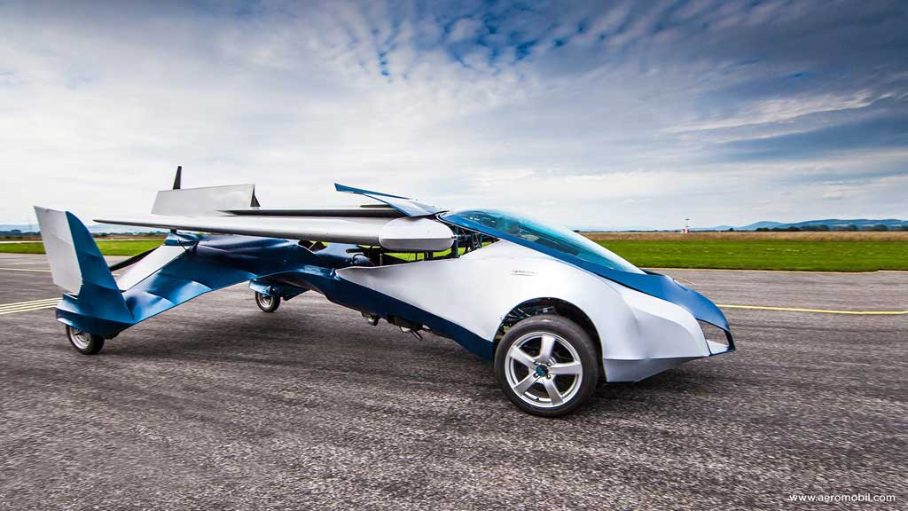 Aeromobil Flying Car - Photo #1