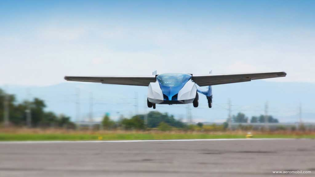 Aeromobil Flying Car - Photo #2