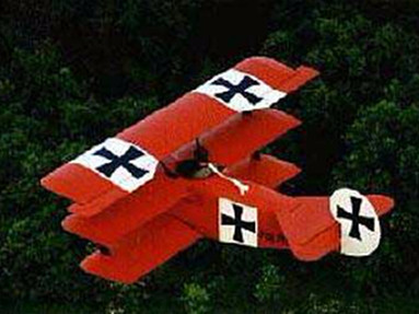 Fokker DR-1 Triplane 3/4 replica - Photo #1