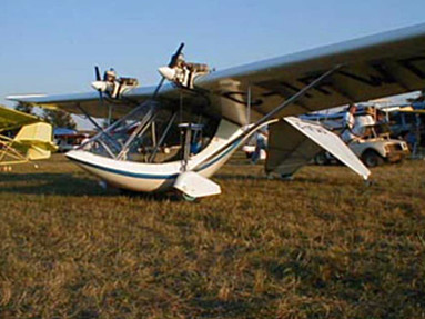 Lazair - Twin Engine Ultralight Aircraft - Photo #3