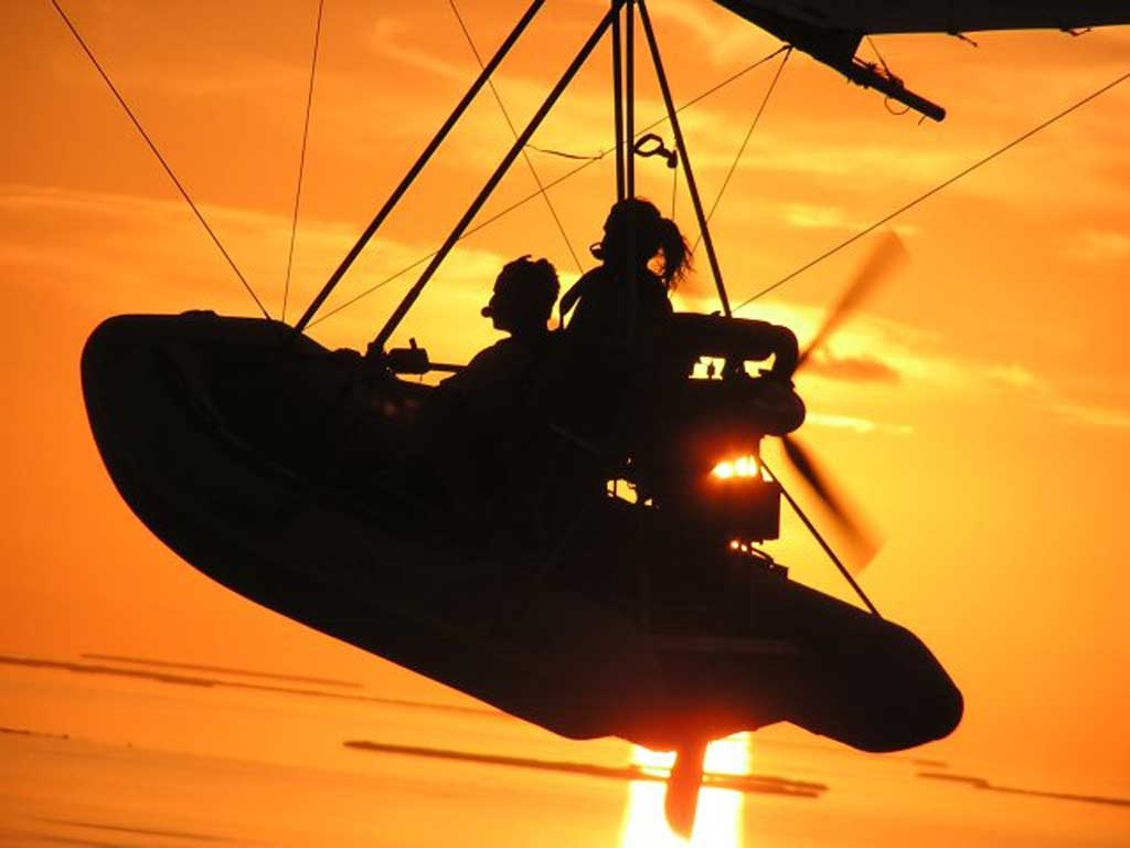 FIB - Flying Inflatable Boat - Photo #2