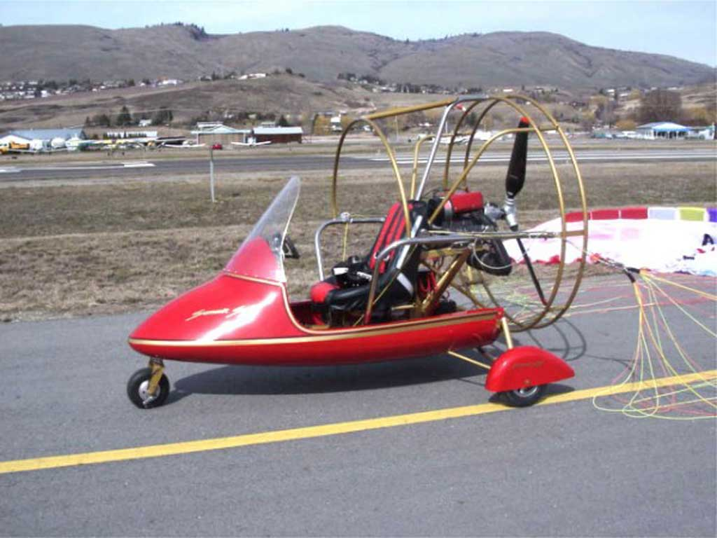 Summit SS single seat Powered Parachute - Photo #3