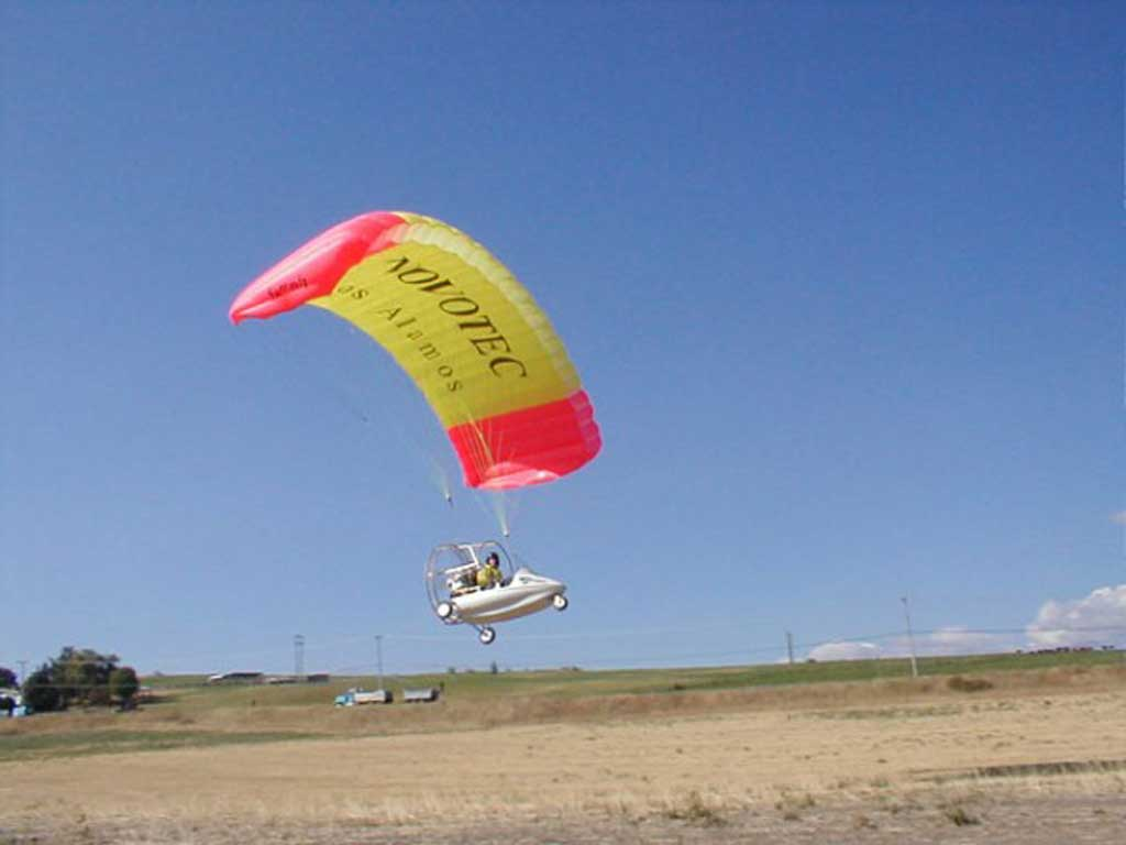 Summit SS single seat Powered Parachute - Photo #1