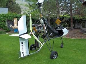 Single Seat Dominator Gyroplane - Photo #1