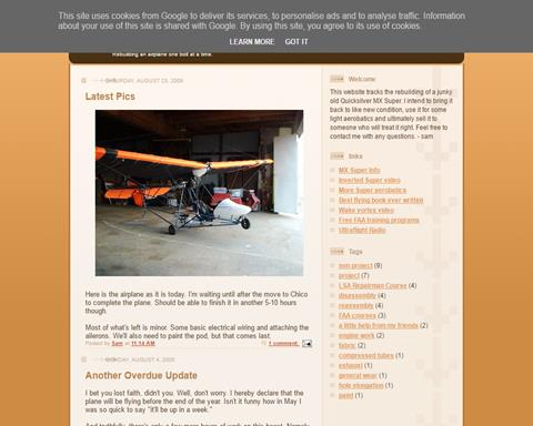 Personal Ultralight pages   Light Aircraft DB & Sales