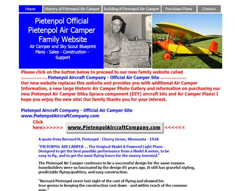 B.H. Pietenpol And Sons Air Camper Aircraft L.L.C