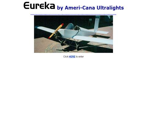 Eureka Ultralight Airplane