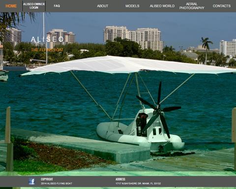 Aliseo Flying Boat Manufacturer