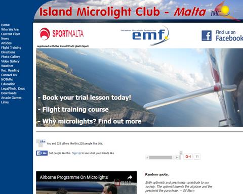 Malta - Island Microlight Club