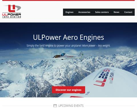 UL Power Aero Engines