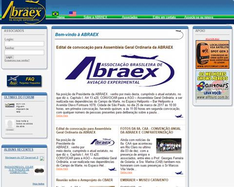 Abraex, Brazilian Soc. of expr. aviation