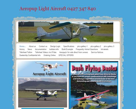 Aeropup Folding wing kit planes