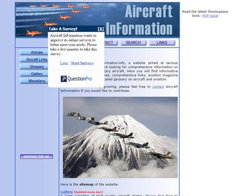 Aircraft InFormation