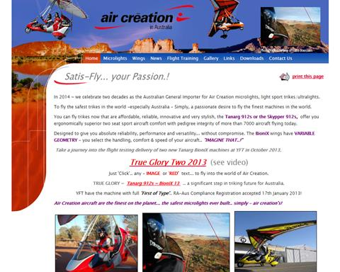 Air Creation in Australia
