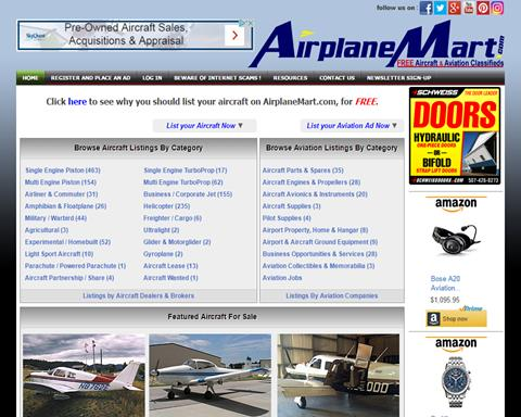 Airplanemart.com, Woldwide Aircraft Clas