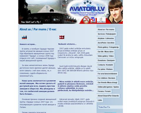 Aviatori.lv- Aviagroup Eduard