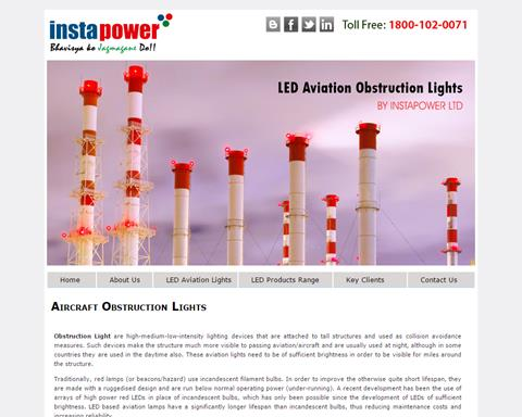aviation obstruction light manufacturer