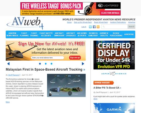 AVweb, The Internet's Aviation Magazine