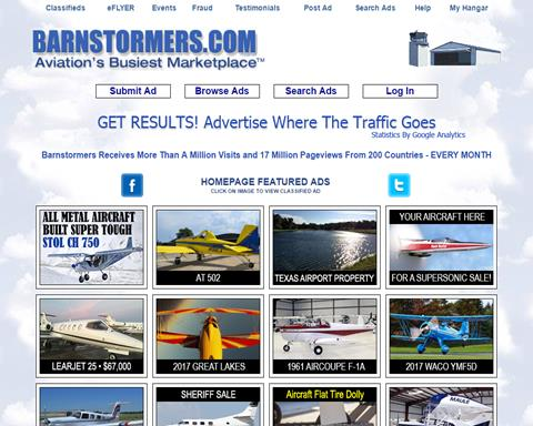Barnstormers Aircraft | Light Aircraft DB & Sales