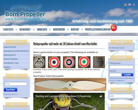 Born Propeller Manufacturer