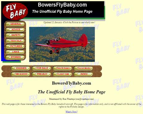 The Unofficial Fly Baby Home Page